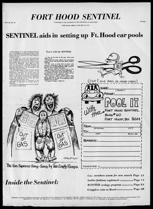 Primary view of object titled 'The Fort Hood Sentinel (Temple, Tex.), Vol. 32, No. 45, Ed. 1 Friday, January 18, 1974'.