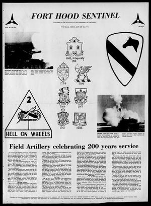 The Fort Hood Sentinel (Temple, Tex.), Vol. 32, No. 46, Ed. 1 Friday, January 25, 1974