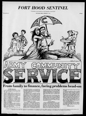 The Fort Hood Sentinel (Temple, Tex.), Vol. 32, No. 47, Ed. 1 Friday, February 1, 1974