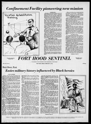 Primary view of object titled 'The Fort Hood Sentinel (Temple, Tex.), Vol. 32, No. 48, Ed. 1 Friday, February 8, 1974'.