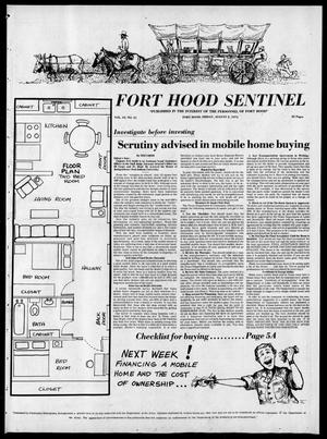Primary view of object titled 'The Fort Hood Sentinel (Temple, Tex.), Vol. 33, No. 21, Ed. 1 Friday, August 2, 1974'.
