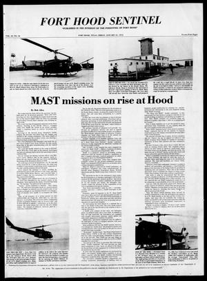Primary view of The Fort Hood Sentinel (Temple, Tex.), Vol. 33, No. 46, Ed. 1 Friday, January 31, 1975