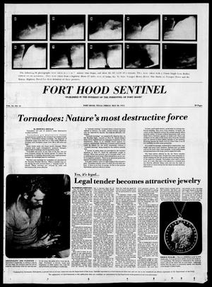 Primary view of object titled 'The Fort Hood Sentinel (Temple, Tex.), Vol. 34, No. 12, Ed. 1 Friday, May 30, 1975'.