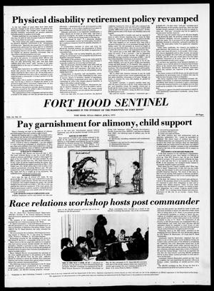 Primary view of object titled 'The Fort Hood Sentinel (Temple, Tex.), Vol. 34, No. 13, Ed. 1 Friday, June 6, 1975'.