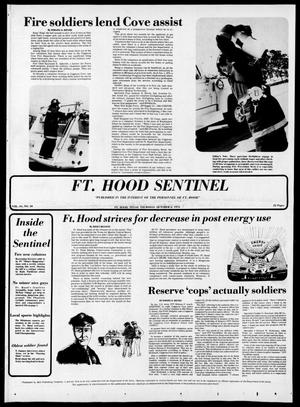 Primary view of object titled 'The Fort Hood Sentinel (Temple, Tex.), Vol. 34, No. 30, Ed. 1 Thursday, October 2, 1975'.