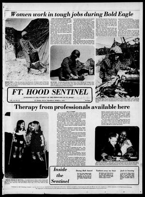 Primary view of object titled 'The Fort Hood Sentinel (Temple, Tex.), Vol. 34, No. 51, Ed. 1 Thursday, March 4, 1976'.