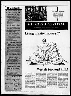 Primary view of object titled 'The Fort Hood Sentinel (Temple, Tex.), Vol. 35, No. 23, Ed. 1 Thursday, August 12, 1976'.
