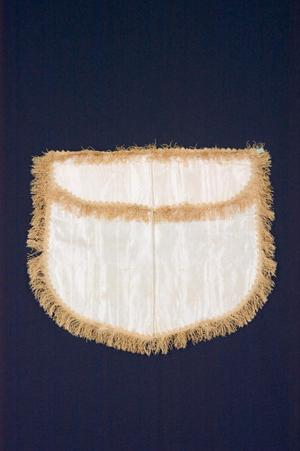 Primary view of object titled 'Masonic apron'.