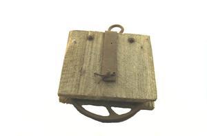 Primary view of object titled 'Pulley'.