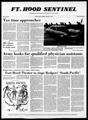 Primary view of object titled 'The Fort Hood Sentinel (Temple, Tex.), Vol. 38, No. 44, Ed. 1 Thursday, January 10, 1980'.