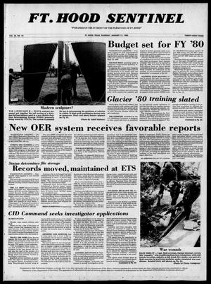 The Fort Hood Sentinel (Temple, Tex.), Vol. 38, No. 45, Ed. 1 Thursday, January 17, 1980