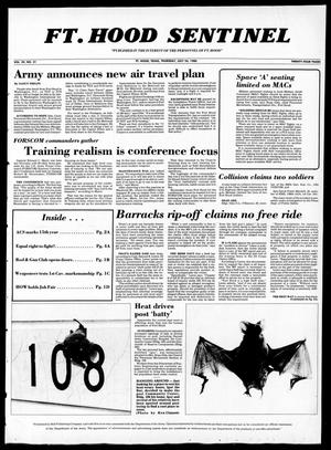 The Fort Hood Sentinel (Temple, Tex.), Vol. 39, No. 21, Ed. 1 Thursday, July 24, 1980