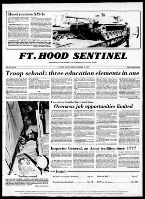 The Fort Hood Sentinel (Temple, Tex.), Vol. 39, No. 29, Ed. 1 Thursday, September 18, 1980