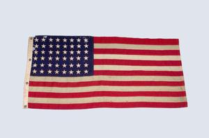 Primary view of object titled 'U.S. Flag'.