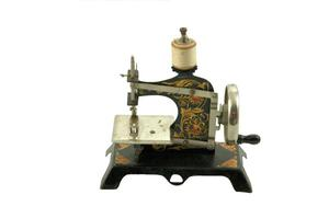 Primary view of object titled 'Toy sewing machine'.