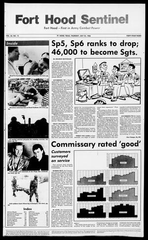 The Fort Hood Sentinel (Temple, Tex.), Vol. 44, No. 12, Ed. 1 Thursday, July 25, 1985