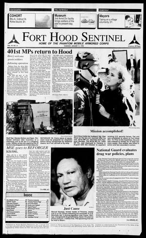 The Fort Hood Sentinel (Temple, Tex.), Vol. 49, No. 31, Ed. 1 Thursday, January 11, 1990