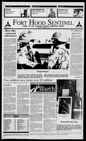 The Fort Hood Sentinel (Temple, Tex.), Vol. 49, No. 32, Ed. 1 Thursday, January 18, 1990