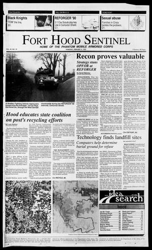 Primary view of object titled 'The Fort Hood Sentinel (Temple, Tex.), Vol. 49, No. 35, Ed. 1 Thursday, February 8, 1990'.