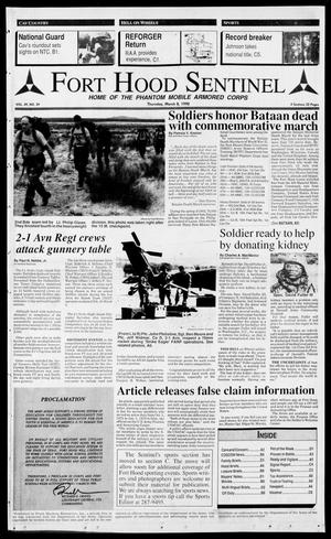 The Fort Hood Sentinel (Temple, Tex.), Vol. 49, No. 39, Ed. 1 Thursday, March 8, 1990