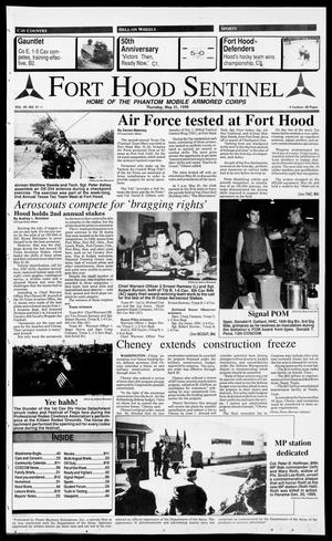 Primary view of object titled 'The Fort Hood Sentinel (Temple, Tex.), Vol. 49, No. 51, Ed. 1 Thursday, May 31, 1990'.