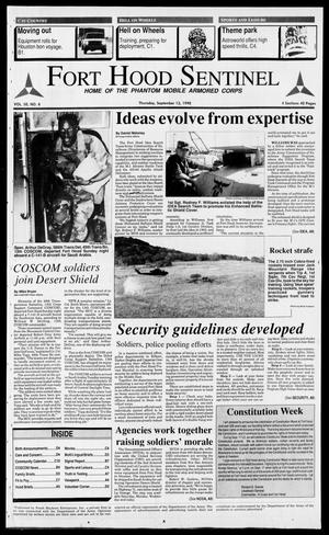 The Fort Hood Sentinel (Temple, Tex.), Vol. 50, No. 8, Ed. 1 Thursday, September 13, 1990