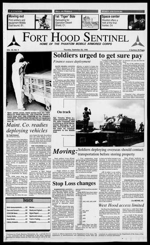 The Fort Hood Sentinel (Temple, Tex.), Vol. 50, No. 9, Ed. 1 Thursday, September 20, 1990