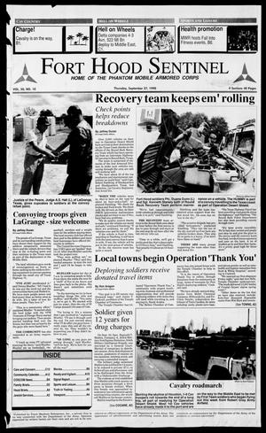 The Fort Hood Sentinel (Temple, Tex.), Vol. 50, No. 10, Ed. 1 Thursday, September 27, 1990