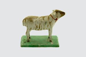 Primary view of object titled '[Sheep Figurine]'.