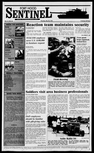 The Fort Hood Sentinel (Temple, Tex.), Vol. 51, No. 42, Ed. 1 Thursday, May 28, 1992