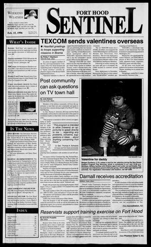 The Fort Hood Sentinel (Temple, Tex.), Vol. 54, No. 73, Ed. 1 Thursday, February 15, 1996