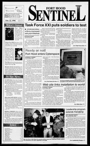 The Fort Hood Sentinel (Temple, Tex.), Vol. 54, No. 74, Ed. 1 Thursday, February 22, 1996