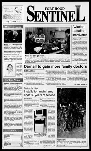 The Fort Hood Sentinel (Temple, Tex.), Vol. 54, No. 86, Ed. 1 Thursday, May 23, 1996