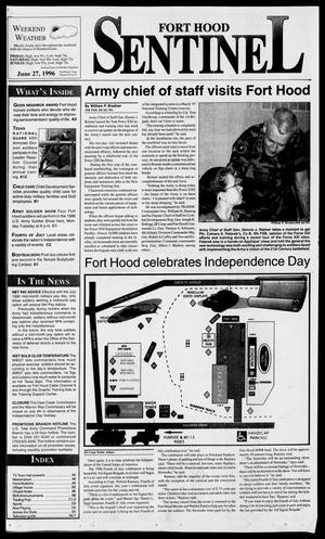 Primary view of object titled 'The Fort Hood Sentinel (Temple, Tex.), Vol. 54, No. 91, Ed. 1 Thursday, June 27, 1996'.