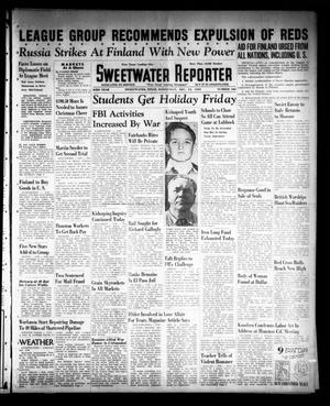 Primary view of object titled 'Sweetwater Reporter (Sweetwater, Tex.), Vol. 43, No. 186, Ed. 1 Wednesday, December 13, 1939'.