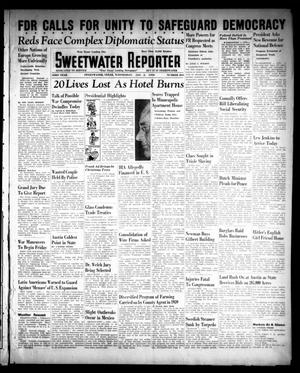 Primary view of object titled 'Sweetwater Reporter (Sweetwater, Tex.), Vol. 43, No. 204, Ed. 1 Wednesday, January 3, 1940'.