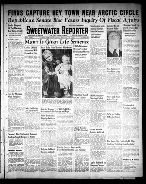 Primary view of object titled 'Sweetwater Reporter (Sweetwater, Tex.), Vol. 43, No. 206, Ed. 1 Friday, January 5, 1940'.