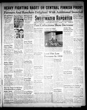 Primary view of object titled 'Sweetwater Reporter (Sweetwater, Tex.), Vol. 43, No. 207, Ed. 1 Sunday, January 7, 1940'.