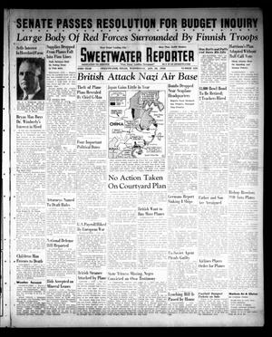Primary view of object titled 'Sweetwater Reporter (Sweetwater, Tex.), Vol. 43, No. 210, Ed. 1 Wednesday, January 10, 1940'.