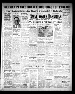 Sweetwater Reporter (Sweetwater, Tex.), Vol. 43, No. 211, Ed. 1 Thursday, January 11, 1940