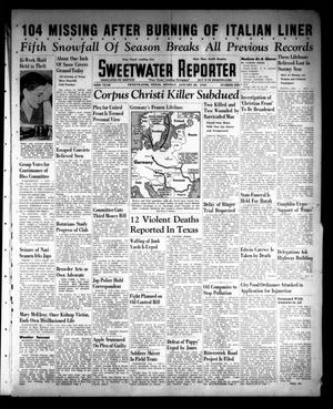 Primary view of object titled 'Sweetwater Reporter (Sweetwater, Tex.), Vol. 43, No. 220, Ed. 1 Monday, January 22, 1940'.