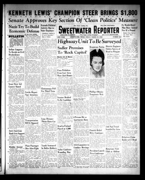 Primary view of object titled 'Sweetwater Reporter (Sweetwater, Tex.), Vol. 43, No. 265, Ed. 1 Friday, March 15, 1940'.