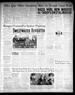 Primary view of object titled 'Sweetwater Reporter (Sweetwater, Tex.), Vol. 45, No. 216, Ed. 1 Wednesday, August 19, 1942'.