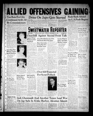 Primary view of object titled 'Sweetwater Reporter (Sweetwater, Tex.), Vol. 45, No. 249, Ed. 1 Tuesday, September 29, 1942'.