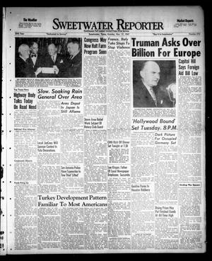 Sweetwater Reporter (Sweetwater, Tex.), Vol. 50, No. 274, Ed. 1 Monday, November 17, 1947