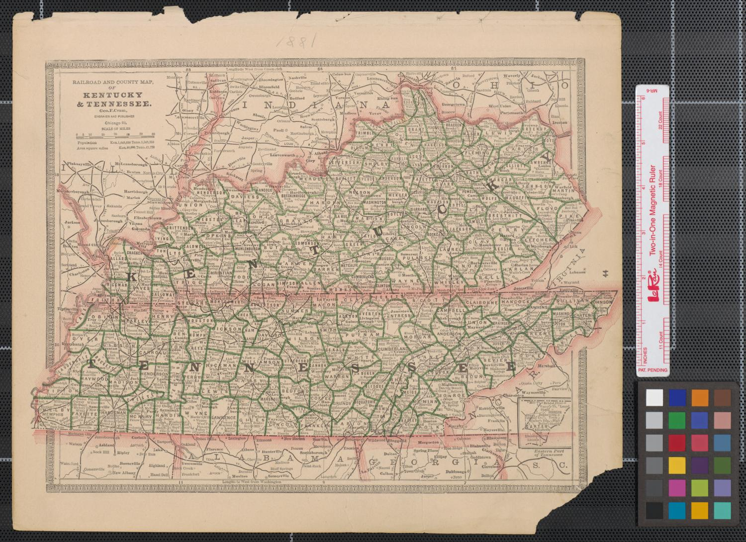 Maps Of Kentucky Amp Tennessee Virginia West Virginia