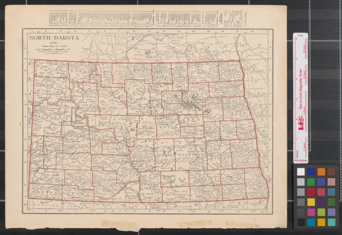 Maps of North and South Dakota] - The Portal to Texas History