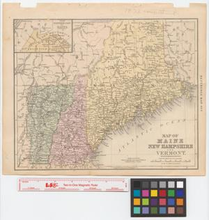 Maps of New England States] - The Portal to Texas History