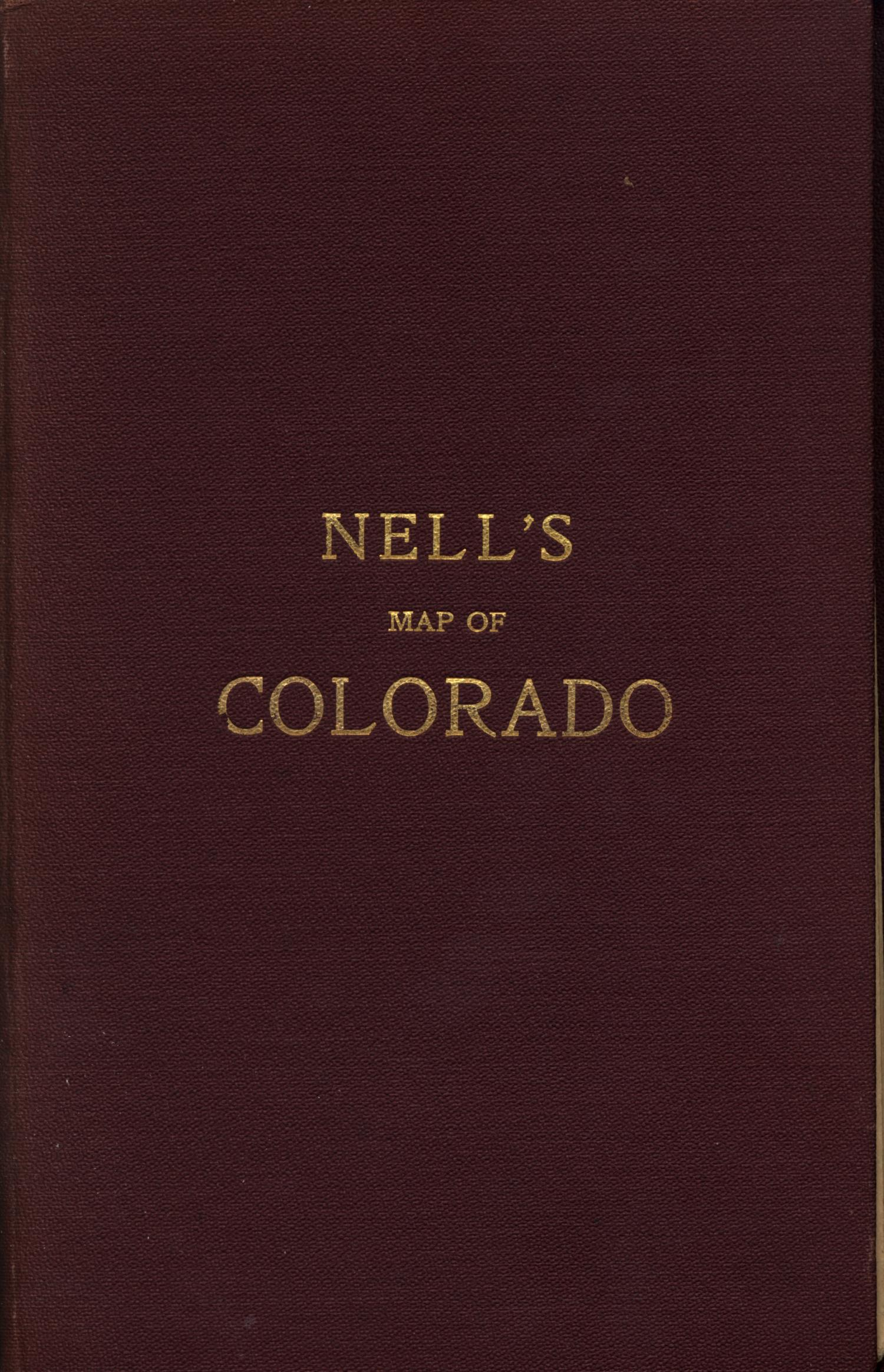 Nells topographical map of the state of Colorado [Accompanying Text]., Explanation and supporting information related to map that shows early twentieth century Colorado township grid, counties, roads, railroads, reservoirs, forest reserves, Native American reservations, U.S. Land offices, canals, and notable physical features.,