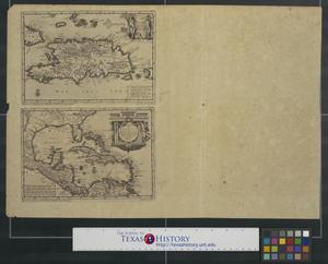 Primary view of Hispaniola soo als het: door Kolumbus Ontdekt, en by de Kastilianen bevolkt is.